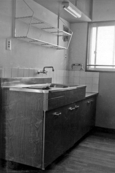 あこがれのステンレスキッチン 1965頃